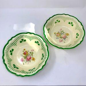 A Pair of Vintage Homer Laughlin Vegetable Bowls